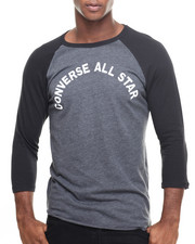Converse - ALL STAR RAGLAN 3/4 SLEEVE RAGLAN TEE