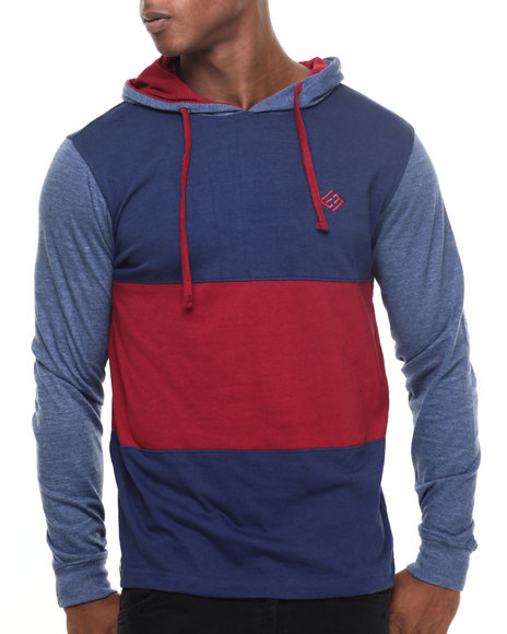 Enyce - Men Navy Mr Krab L/S T-Shirt Hoodie