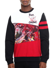Men - Dragon Colorblock crewneck sweatshirt
