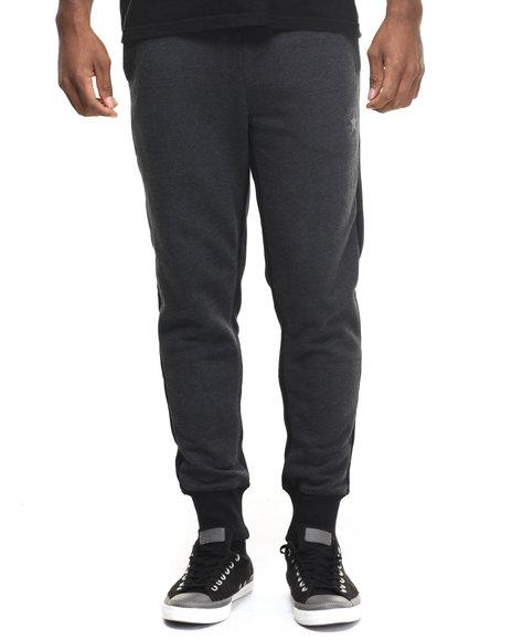 Converse - Men Black Core Plus Cross Dyed Fleece Joggers