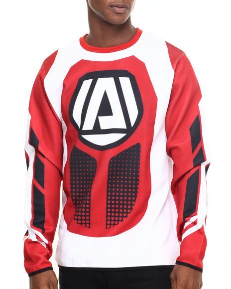 Akademiks - Men White Bullitt Ponte L/S Shirt