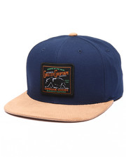 Strapback - Dark Woods Leather Strapback Cap