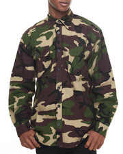 Men - Rothco Extra Heavyweight Camo Flannel Shirts
