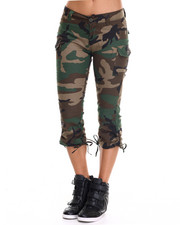 Bottoms - Rothco Womens Camo Capri Pants