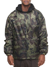 Men - Rothco Reversible Lined Jacket With Hood
