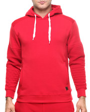 Men - Pipe Quilted Pullover Hoodie