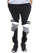 Buyers Picks - Contrast Quilted Moto Sweatpant