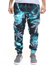Buyers Picks - Diamond Leaf All Over Print Jogger