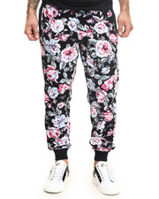 -FEATURES- - FLORAL AVE PANTS