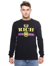 Shirts - RICH EMBLEM L/S TEE