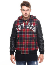-FEATURES- - Society Varsity Jacket