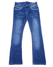Bottoms - HEAVY STITCH FLARE JEANS (7-16)