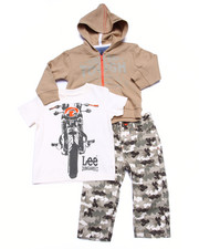 Sets - 3 PC SET - HOODY, TEE, & CAMO PANTS (INFANT)