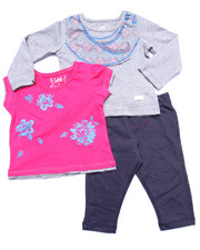 Sets - 3 PC SET - L/S TEE, BUTTERFLY TEE, & JEGGINGS (INFANT)