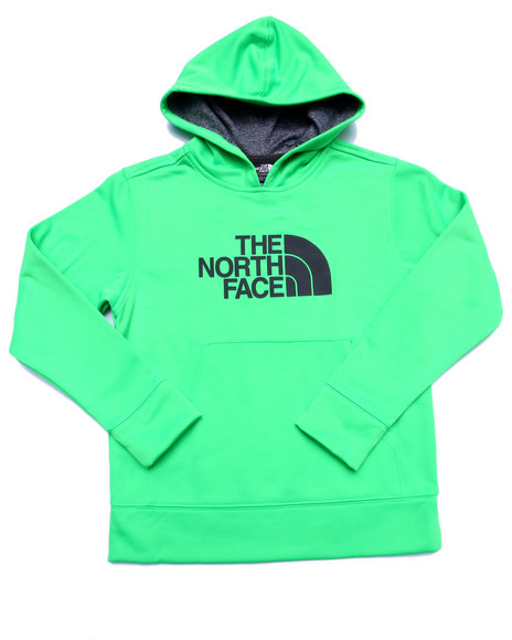 The North Face - Boys Green Logo Surgent Pullover Hoodie (5-20)