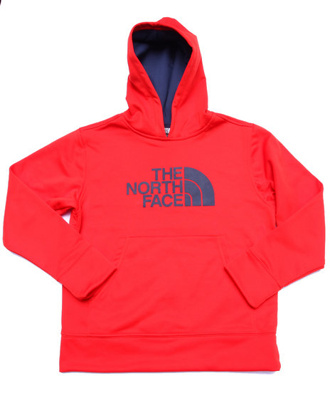The North Face - Boys Red Logo Surgent Pullover Hoodie (5-20)