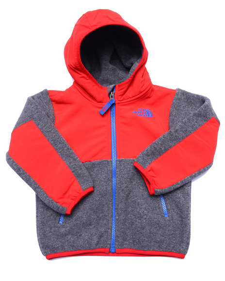 The North Face - Boys Grey Denali Hoodie (2T-4T)