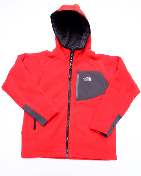 The North Face - Boys Red Chimborazo Hoodie (5-20)