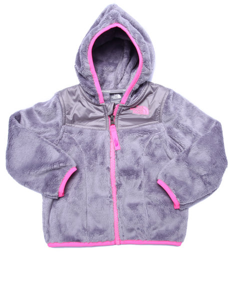 The North Face - Girls Silver Oso Hoodie (2T-4T)
