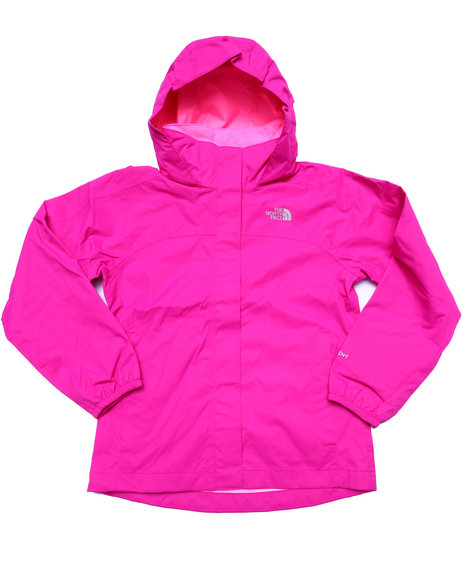 The North Face - Girls Pink Resolve Reflective Jacket (4-16)