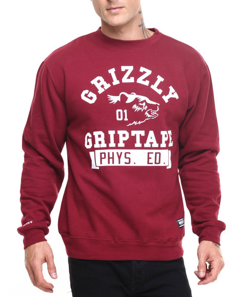 Grizzly Griptape Pullover Sweatshirts