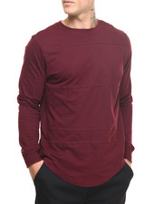 Men - Olympic E-longated bottom L/S Shirt