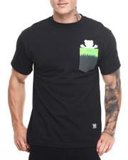 Shirts - Fire Tie-Dye Pocket Tee