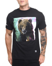 Shirts - Grizzly Tie-Dye Fur Tee