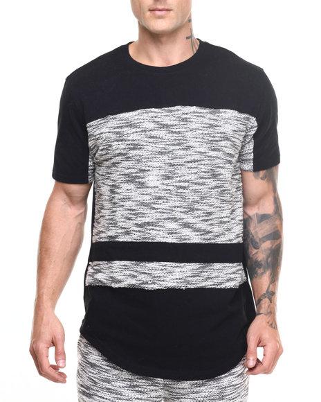 Akademiks Men Spirit Specialty Knit S/S Tee Black X-Large