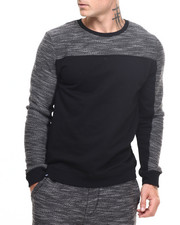 Deals-Men - Boxer Cut & Sewn Specialty Knit sweatshirt