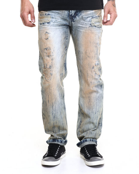 Buyers Picks - Men Vintage Wash Vintage Washed Dirty Jean
