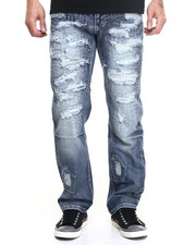 Jeans & Pants - Heavy Distressed Jean
