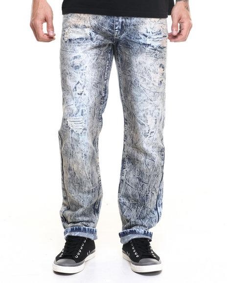Buyers Picks - Men Acid Wash Acid Wash Distressed Jean