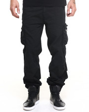 Basic Essentials - Jet - Style Cargo Pants