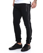 Pants - Sweatpants with Side Zip