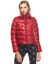 Jackets & Coats - CROP PUFFER COAT