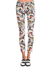 Women - TATTOO PRINT JEANS