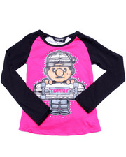 Deals-Girls - LIL' TOMMY SKATER AZTEC TEE (7-16)