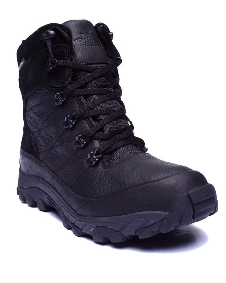 The North Face - Men Black Chilkat Leather Boots