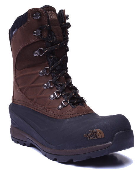 The North Face - Men Brown Chilkat 400 High Boots