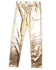 Sizes 7-16 - Big Kids - GOLD LEGGINGS (7-16)
