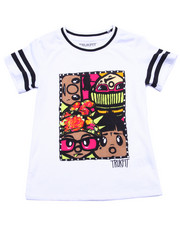 Deals-Girls - TRUKFIT CREW TEE (7-16)