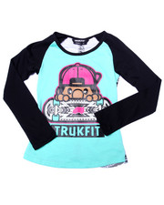Girls - LIL' TOMMY SKATER AZTEC TEE (7-16)