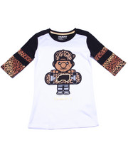 Deals-Girls - LIL' TOMMY LEOPARD TEE (7-16)