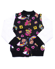 Light Jackets - ALL OVER LIL' TOMMY VARSITY JACKET (7-16)