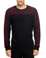 Men - Boxer Cut & Sewn Specialty Knit sweatshirt