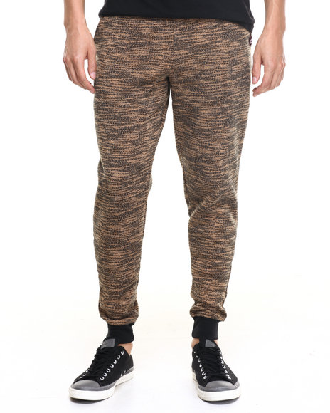 Akademiks - Men Wheat Fly Knit Jogger Sweatpants