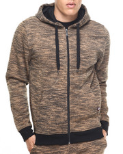 Akademiks - All Over Fly Knit full zip hoodie