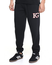 Men - K G Logo Fleece Sweatpants