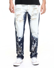 Men - Jason Bleached Denim Jeans